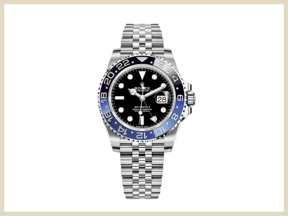 取扱ブランド時計 ロレックス GMTマスターII 126710BLNR