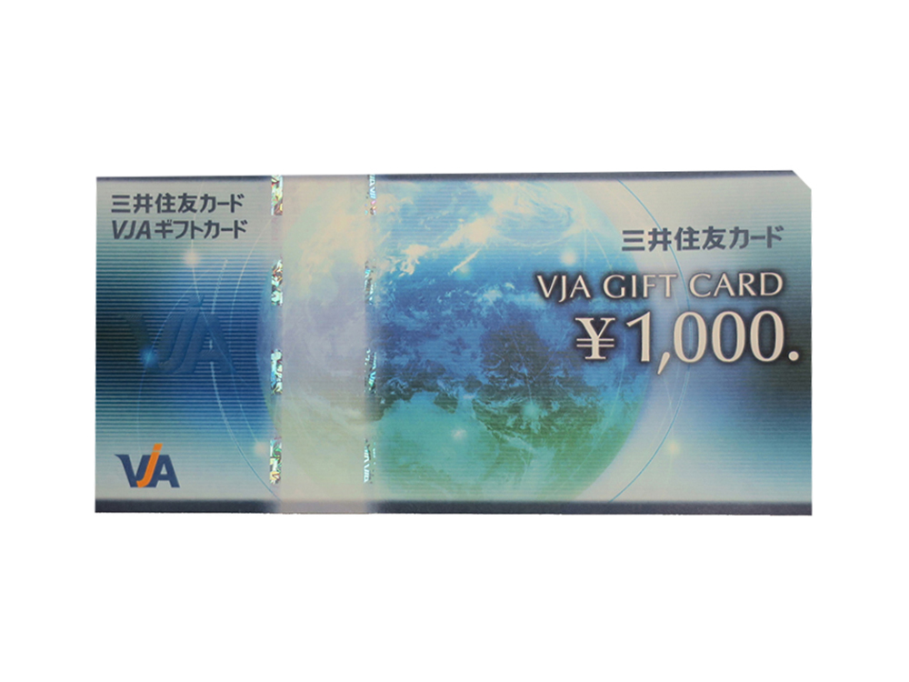 新着商品 VJAギフトカード 1,000円