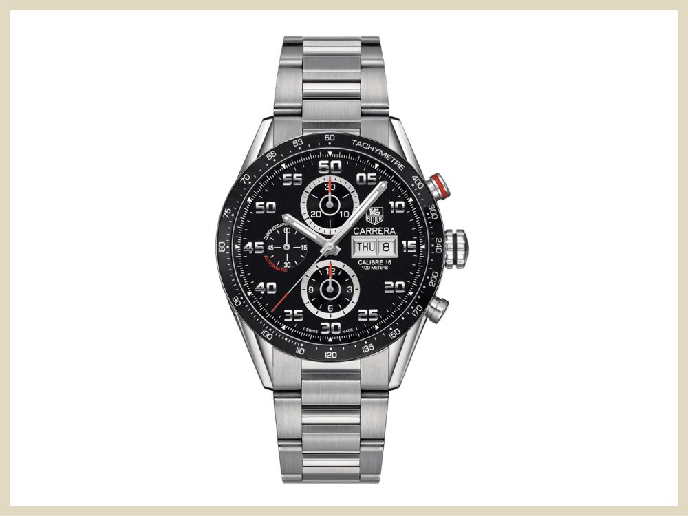 取扱ブランド時計 タグ・ホイヤー カレラ キャリバー16 デイデイト CV2A1R.BA0799