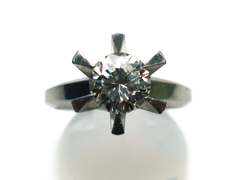 Pt900ダイヤモンド1.02ctリング 買取情報 202001