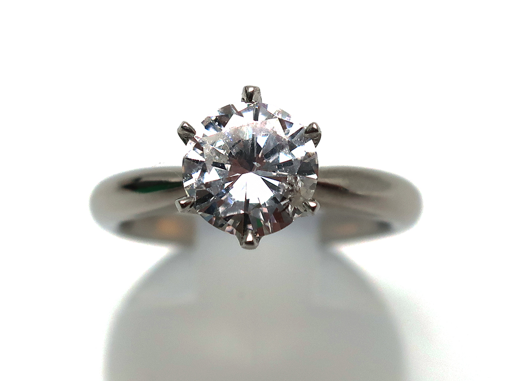Pt900ダイヤモンド1.012ctリング 買取情報 202002