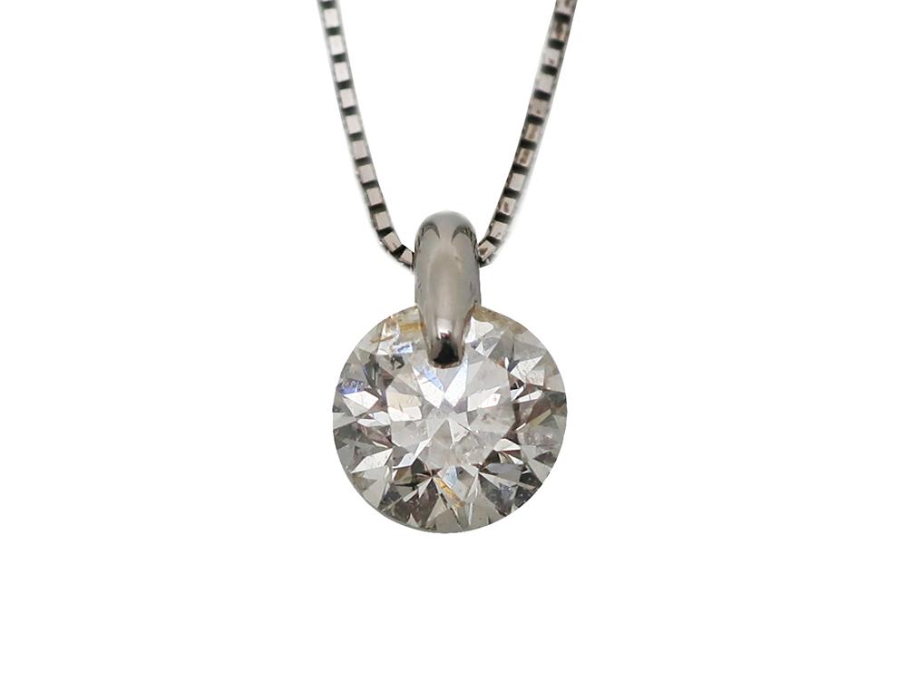 PT900/850ダイヤモンド1.10ctペンダントネックレス 買取情報 202003