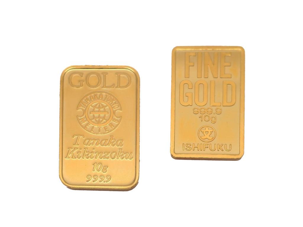 純金インゴット 20g 買取情報 202004