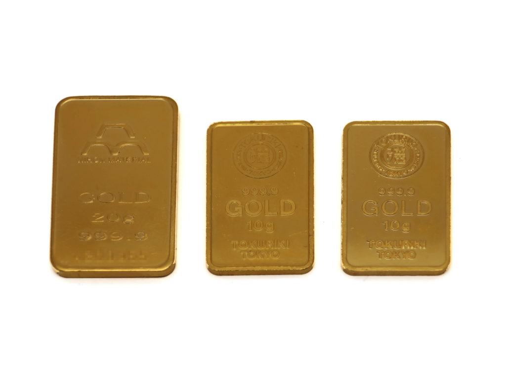 純金インゴット 40g 買取情報 202005