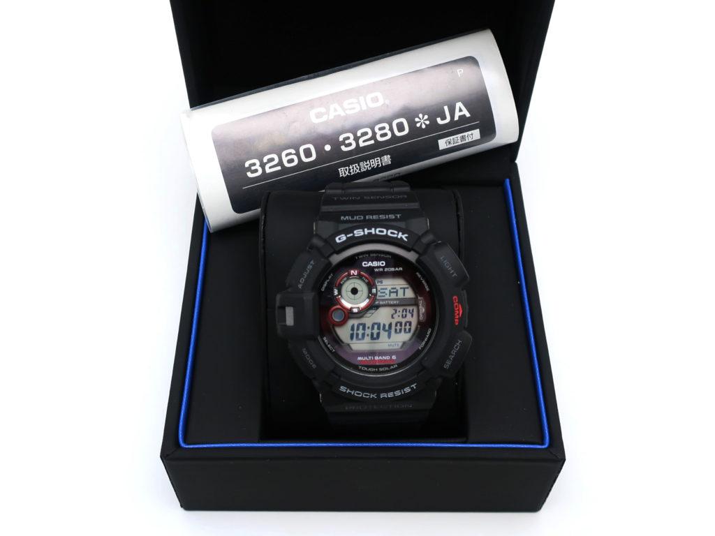 カシオ G-SHOCK マッドマン GW-9300-1JF 202005