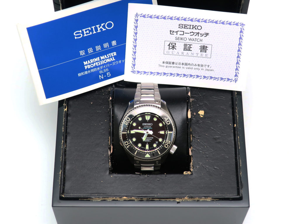 セイコー プロスペックス マリンマスター SBEX003 8L55-0080 買取情報 202006