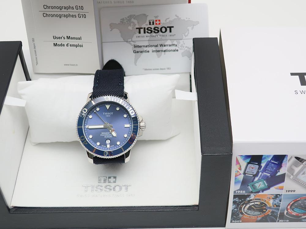 ティソ シースター パワーマチック T120407A 買取情報 202008