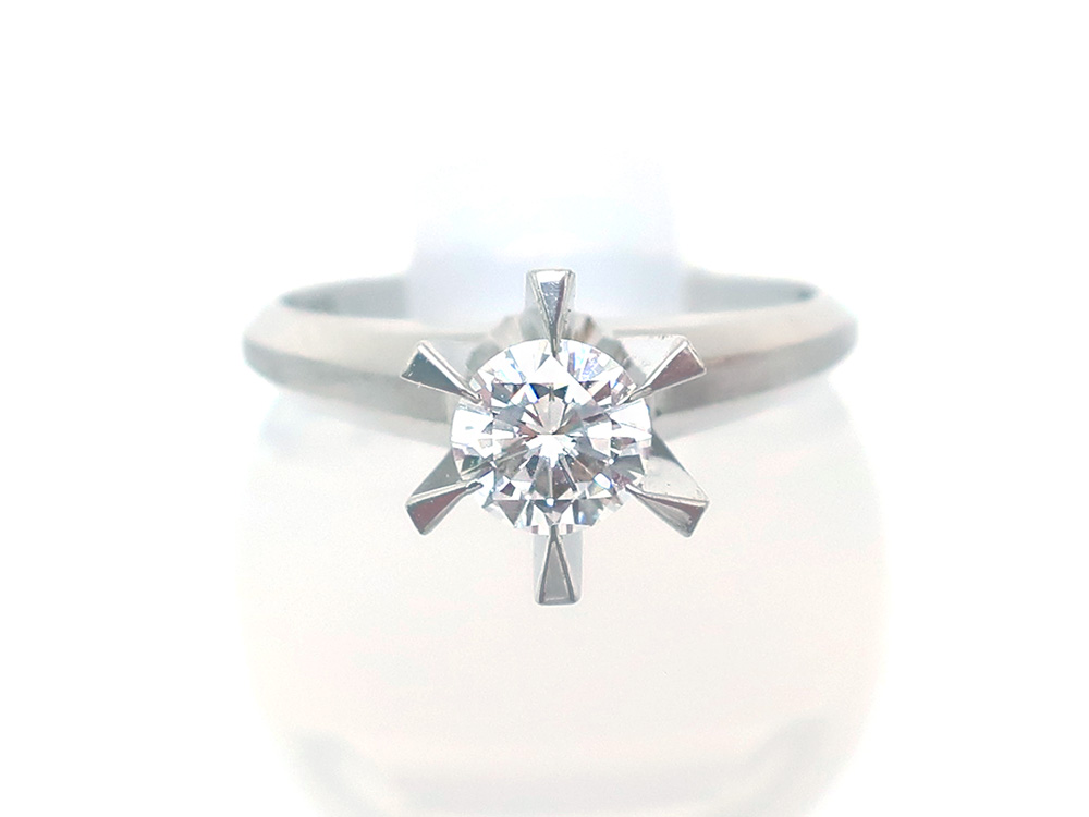 Pt900ダイヤモンド0.355ctリング 買取情報 202007