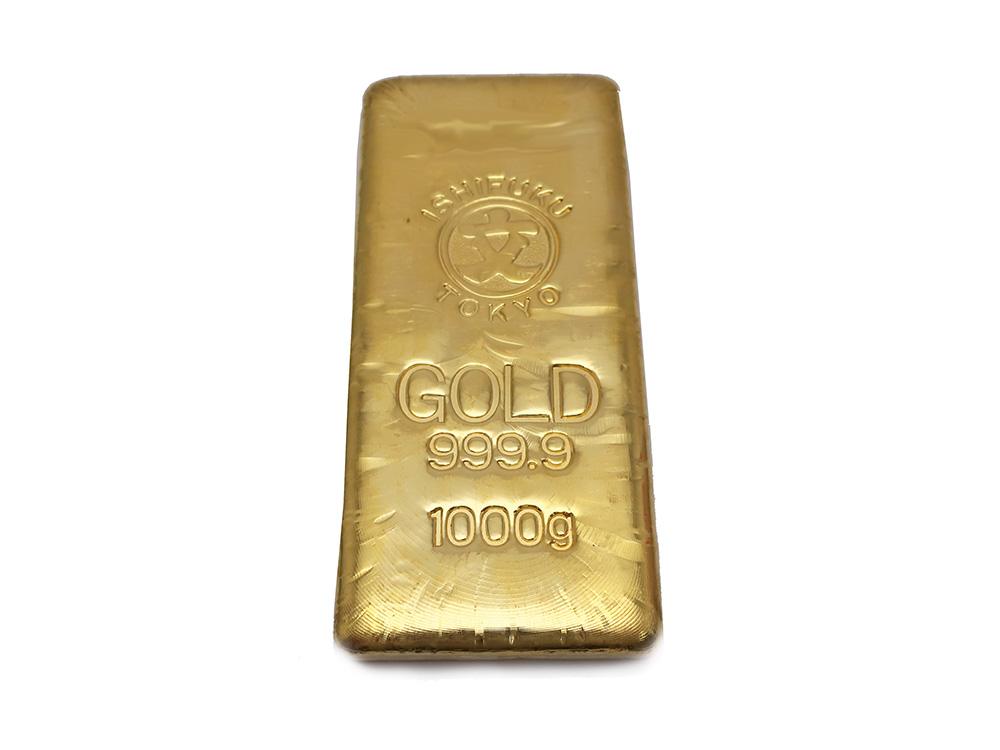 純金インゴット 1kg 買取情報 202010