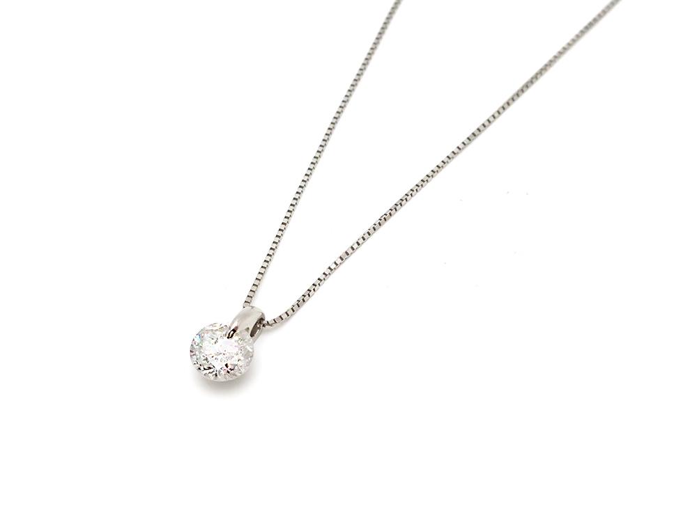 Pt900/850ダイヤモンド 1.02ct ペンダントネックレス 買取情報 202010
