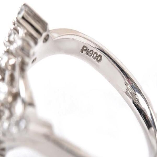 Pt900刻印の指輪