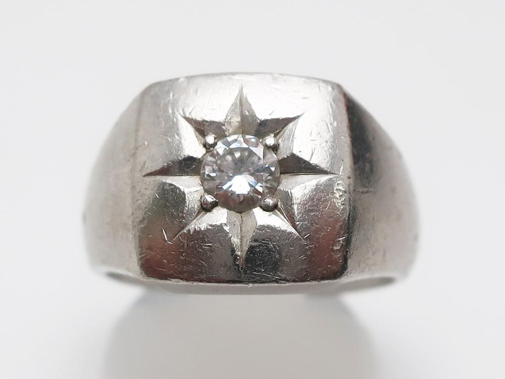 Pt900 ダイヤモンド 0.301ct リング  23g 買取実績 202101