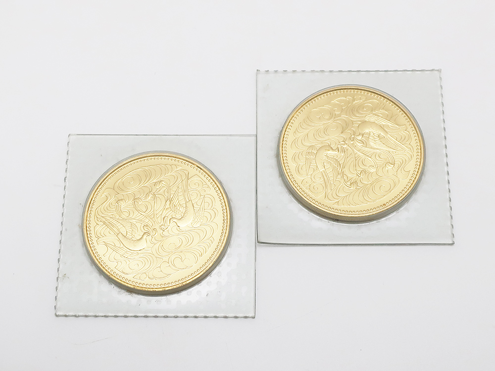 拾万円金貨2枚 24金 40g 買取実績 202101