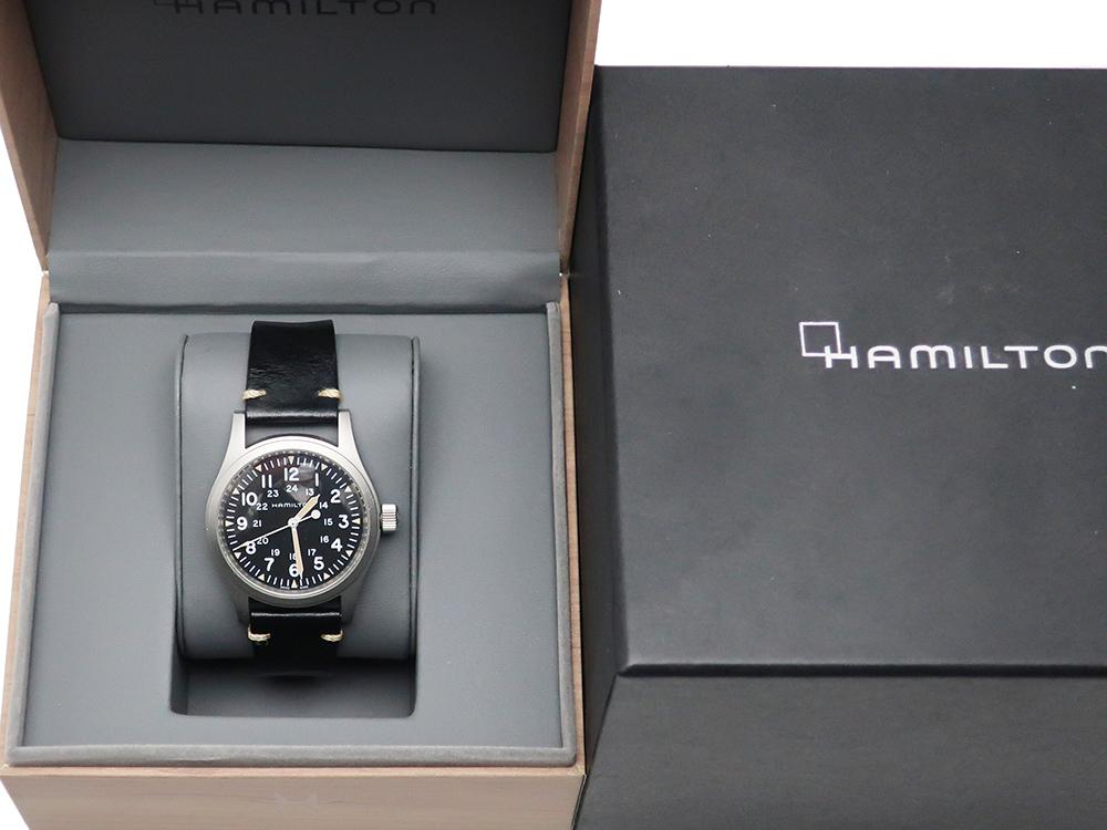ハミルトン カーキフィールド メカ H694390 買取実績 202101