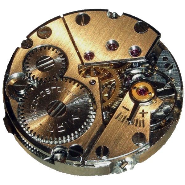 機械式時計内部の例