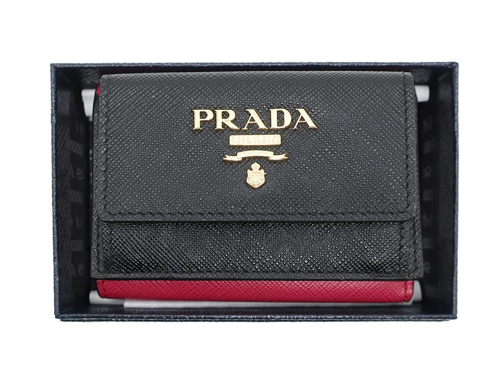 プラダ コンパクト財布 1MH021 買取実績 202102