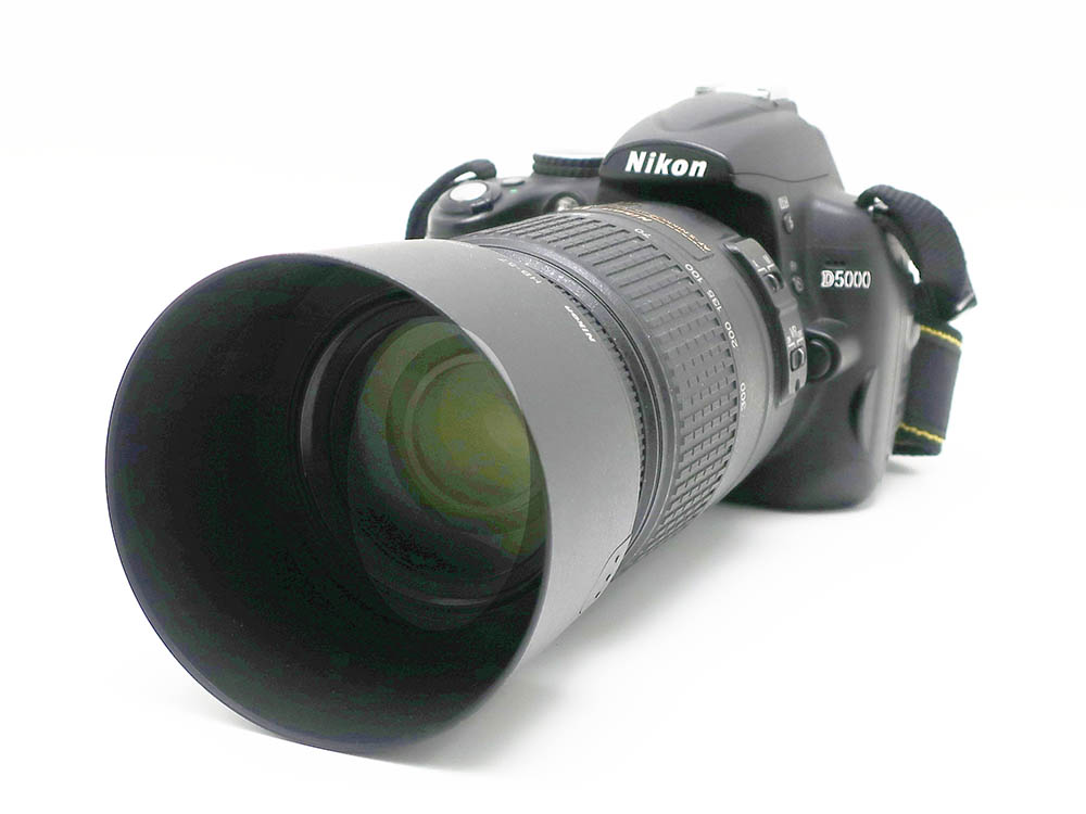 ニコン デジタルカメラ D5000 55-300mm レンズセット 買取実績 202105