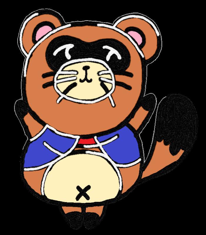質屋タイキ公式キャラクター「シチタヌキさん」