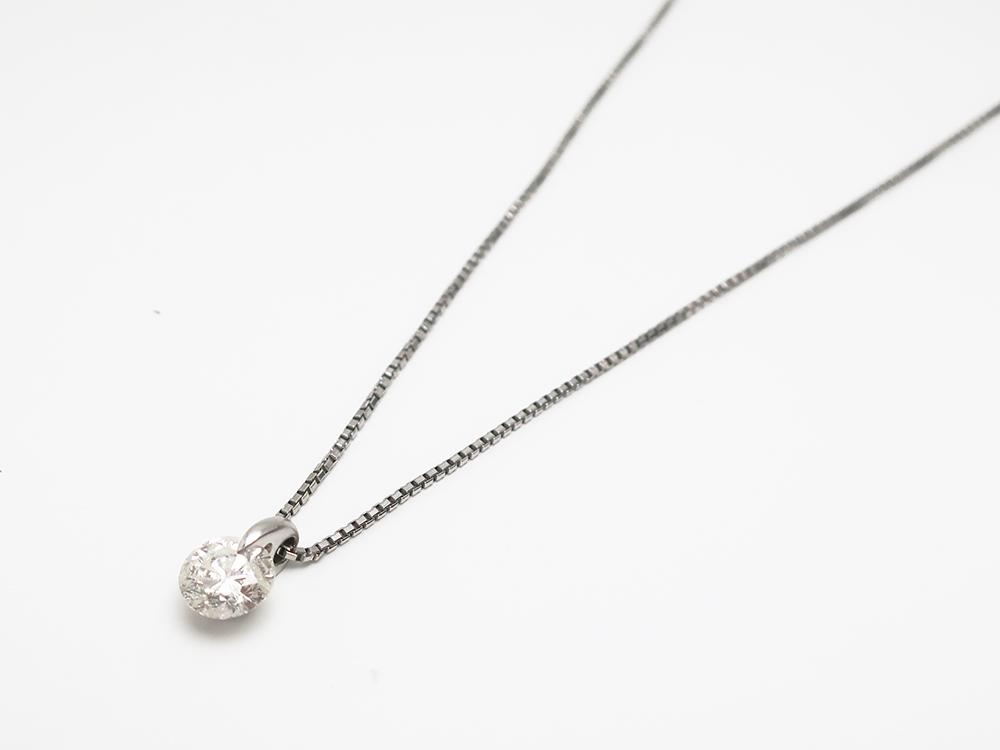 Pt900/850 ダイヤモンド 2.01ct ペンダントネックレス 6.8g 買取実績 202107