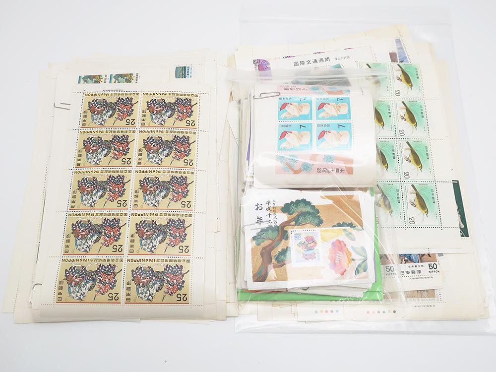 切手シート バラ一式 額面35,550円 買取実績 202107