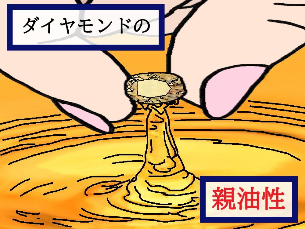 """教えて!シチタヌキさん!「""""ダイヤモンドの輝きが鈍くなる""""のなぜ?」(R3.9/11UP)"""